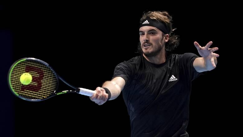 Τσιτσιπάς: «Λύγισε» στην πρεμιέρα του ATP Finals