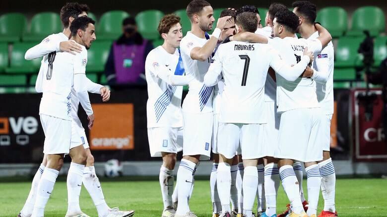 Nations League: Μολδαβία - Ελλάδα 0-2