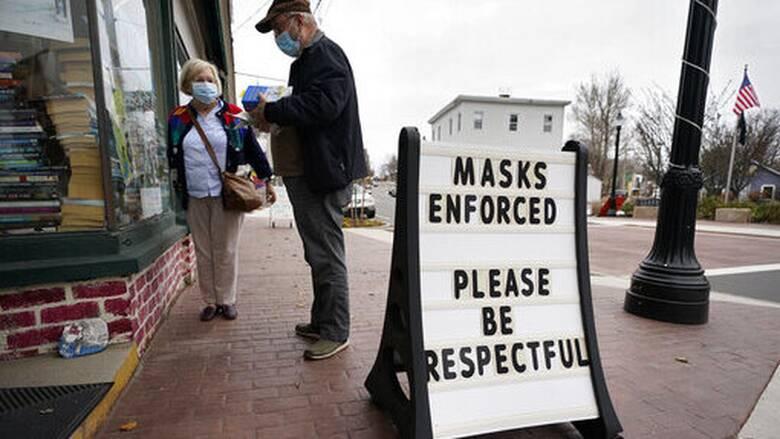 Κορωνοϊός: Ξεπέρασαν τα 11 εκατομμύρια κρούσματα οι ΗΠΑ - Νέο «καμπανάκι» από Φάουτσι