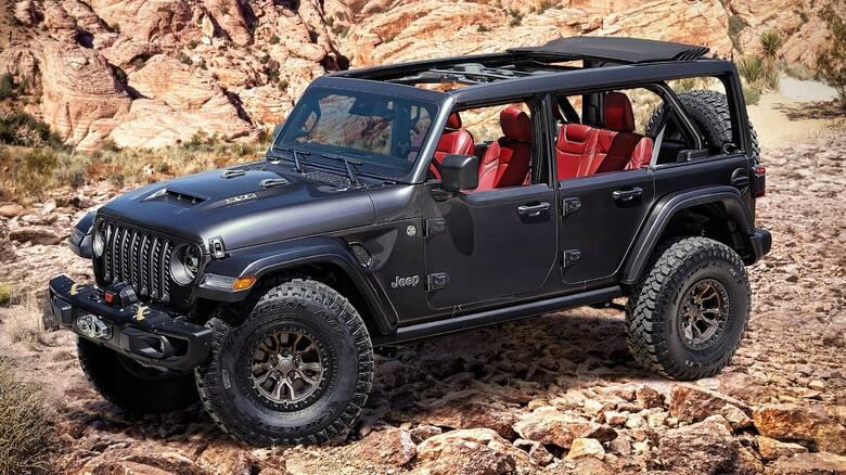Το Jeep Wrangler θα γίνει και οχτακύλινδρο με 6.400 κυβικά και 460 ίππους