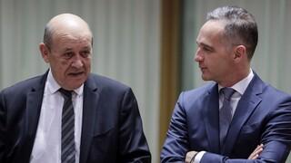 ΥΠΕΞ Γαλλίας και Γερμανίας: Χρειάζεται κοινή γραμμή ενάντια στις συμπεριφορές της Τουρκίας