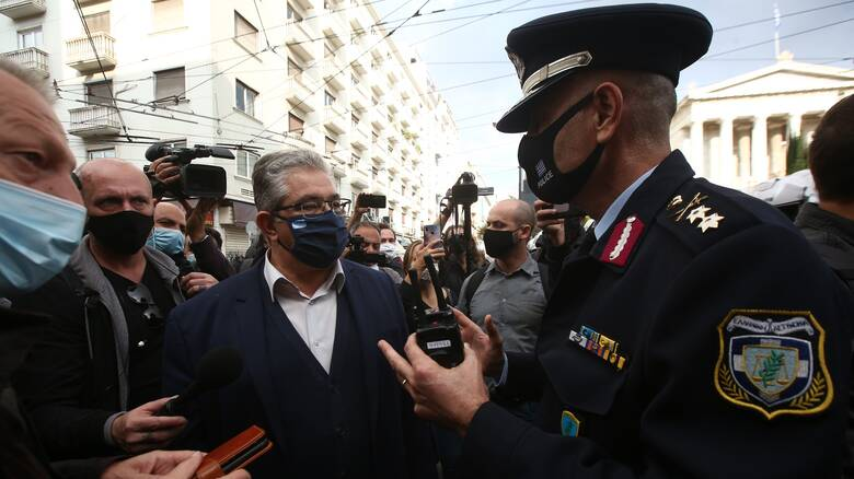 Πολυτεχνείο - Κουτσούμπας: «Ο Χρυσοχοΐδης έδωσε εντολή να απελευθερωθούν οι πέντε»