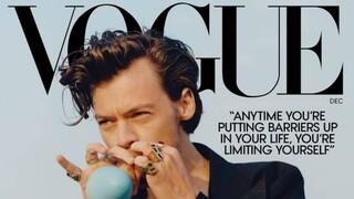 Χάρι Στάιλς: Ο πρώτος σόλο άνδρας στο εξώφυλλο της Vogue