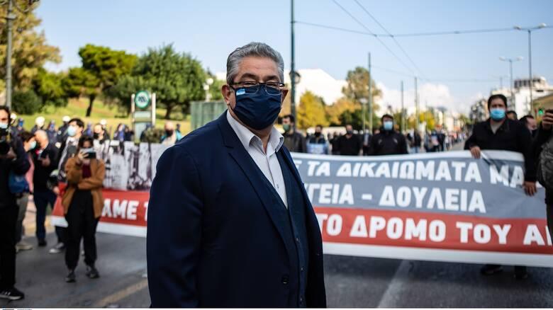 Ικανοποίηση στο ΚΚΕ για τις συγκεντρώσεις: «Η απαγόρευση ακυρώθηκε στην πράξη»