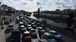 Αθηνών - Λαμίας: Κυκλοφοριακά προβλήματα λόγω τροχαίων