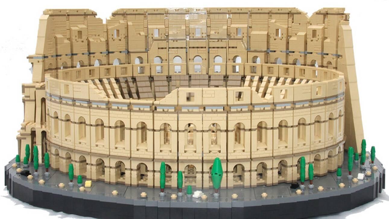 Το μεγαλύτερο Lego της ιστορίας: Το Κολοσσαίο με 9.036 τουβλάκια