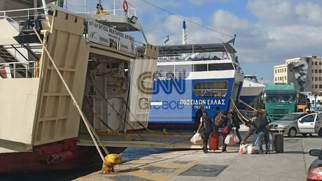 Ρεπορτάζ CNN Greece: Πώς διαμορφώνεται η επιβατική κίνηση στο λιμάνι του Πειραιά εν μέσω lockdown