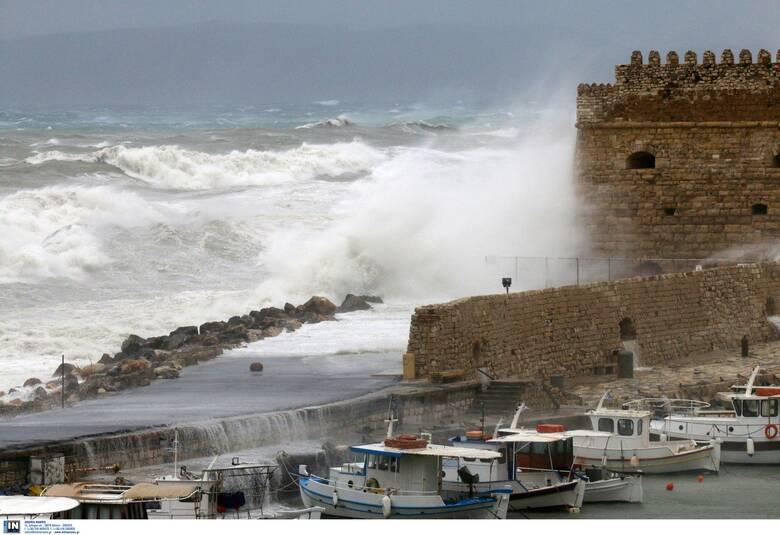 Κρήτη: Νέο κύμα κακοκαιρίας και νέα προβλήματα σε περιοχές του Ηρακλείου