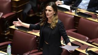 Προϋπολογισμός: Σκληρή κριτική από την Έφη Αχτσιόγλου
