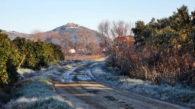 Καιρός: Ο χειμώνας μπήκε... για τα καλά - Πού άγγιξε τους -6,8 βαθμούς το θερμόμετρο