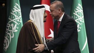 Τηλεφωνική επικοινωνία Ερντογάν - Σαλμάν για βελτίωση των σχέσεών τους