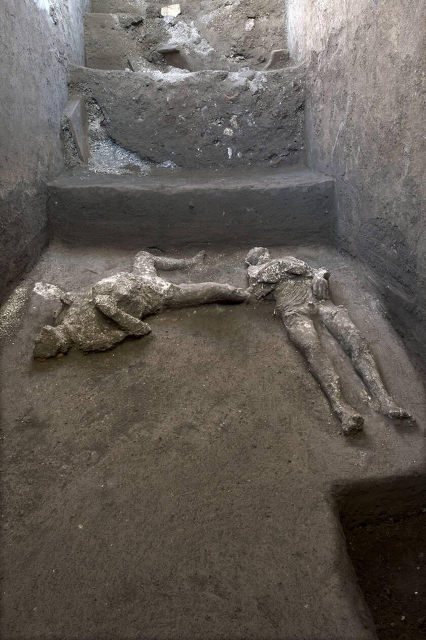 Πομπηία: Βρέθηκαν λείψανα ανδρών που κάηκαν ζωντανοί από την έκρηξη του ηφαιστείου