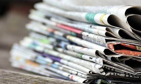 Τα πρωτοσέλιδα των κυριακάτικων εφημερίδων (22 Νοεμβρίου)