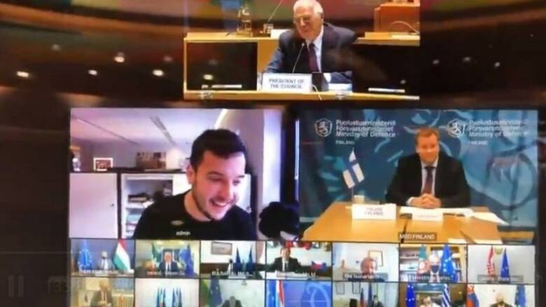 Απίστευτο περιστατικό: Δημοσιογράφος «εισέβαλε» σε τηλεδιάσκεψη στις Βρυξέλλες