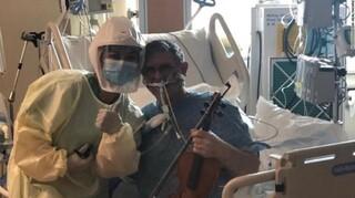 Ένα διαφορετικό «ευχαριστώ»: Ασθενής παίζει βιολί μέσα στη ΜΕΘ