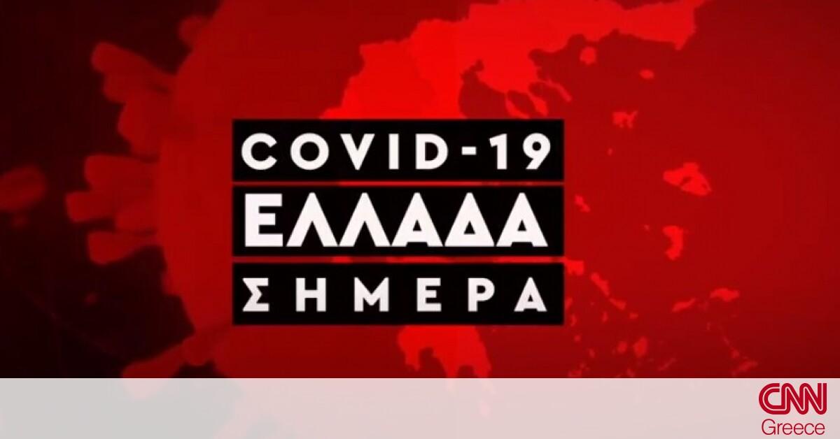 Κορωνοϊός: Η εξάπλωση του Covid 19 στην Ελλάδα με αριθμούς (22/11)