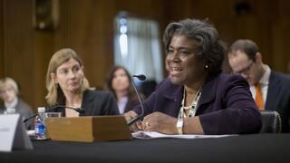 Η βετεράνος διπλωμάτης Λίντα Τόμας - Γκρίνφιλντ επελέγη ως πρεσβευτής των ΗΠΑ στον ΟΗΕ