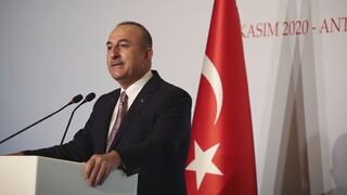 Τσαβούσογλου: Η Τουρκία αναμένει από την ΕΕ να αναγνωρίσει τα λάθη της