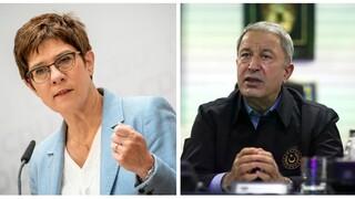 Επιχείρηση «Ειρήνη»: Άγκυρα και Βερολίνο αλληλοκατηγορούνται για τον έλεγχο στο τουρκικό πλοίο