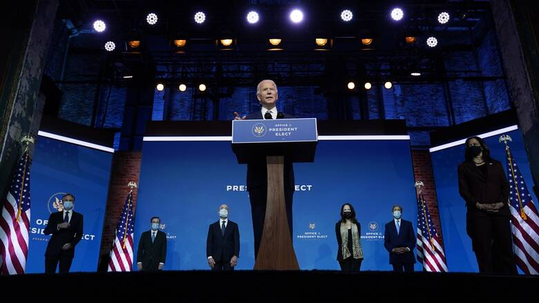 ΗΠΑ: Ο Μπάιντεν παρουσίασε νέα πρόσωπα για την κυβέρνηση της χώρας