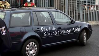 Αυτοκίνητο έπεσε στην πύλη της Καγκελαρίας: Δεν κινδύνευσε η Μέρκελ ή κάποιος άλλος