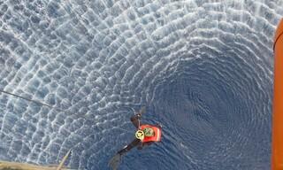 Εντυπωσιακές εικόνες από την άσκηση έρευνας και διάσωσης στην περιοχή Ρόδου-Καστελόριζου