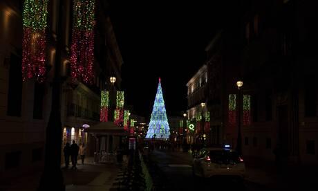 Η Μαδρίτη άναψε τα χριστουγεννιάτικα φώτα της