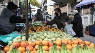 Κορωνοϊός: Πιστώνεται την Παρασκευή η ενίσχυση στους παραγωγούς - πωλητές λαϊκών αγορών