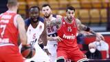 Ολυμπιακός - Μπασκόνια 76-90: Έμεινε... από δυνάμεις
