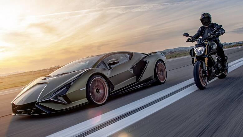 Γιατί η Ducati παρουσίασε μια ειδική έκδοση Lamborghini της Diavel 1260;