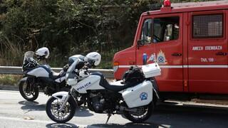 Θεσσαλονίκη: Δύο νεκροί και τρεις τραυματίες σε θανατηφόρα τροχαία