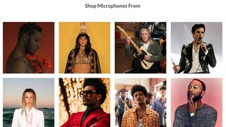Μια ιδιαίτερη δημοπρασία: Διάσημοι καλλιτέχνες πουλάνε τα μικρόφωνά τους για καλό σκοπό