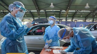 Δράμα: Συνεχίζονται τα rapid tests - Προσπάθειες για ενίσχυση του νοσοκομείου με ιατρικό προσωπικό