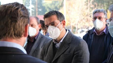 Τσίπρας στη Δράμα: Τεράστιες οι ευθύνες της κυβέρνησης για τις σκηνές βόρειας Ιταλίας