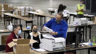Εκλογές ΗΠΑ: Η ανακαταμέτρηση ψήφων στο Ουισκόνσιν ωφέλησε τον Μπάιντεν