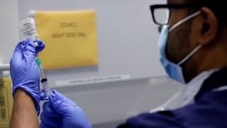 Κορωνοϊός - Βρετανία: Συμφωνία με τη Moderna για ακόμη 2 εκατ. δόσεων του υποψηφίου εμβολίου της