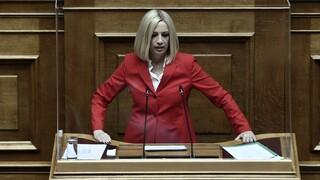 Κορωνοϊός - Γεννηματά: Στη Θεσσαλονίκη αναδεικνύονται οι ευθύνες της κυβέρνησης
