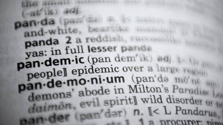 Πανδημία, η λέξη της χρονιάς για το λεξικό Merriam-Webster