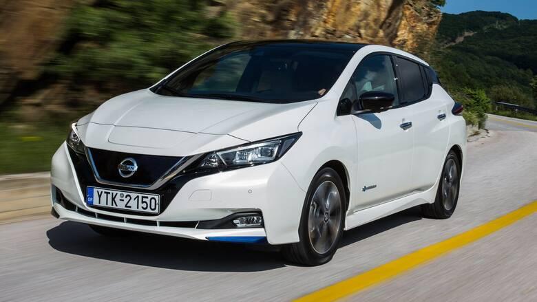 Η Nissan με το LEAF και το e-NV200 είναι πρωτοπόρος στην ηλεκτροκίνηση