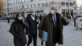 Μπαρνιέ σε πρεσβευτές της ΕΕ: Δεν μπορώ να πω ότι θα υπάρξει τελικά συμφωνία με το Ηνωμένο Βασίλειο