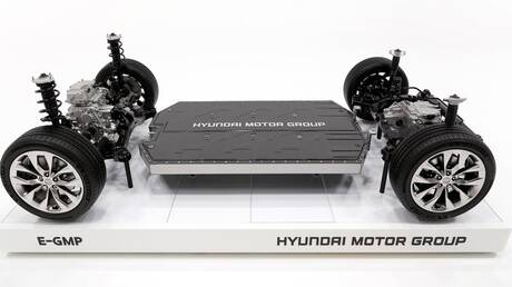 O όμιλος της Hyundai εξέλιξε ένα ολοκαίνουργιο πλαίσιο, το E-GMP, αποκλειστικά για ηλεκτρικά