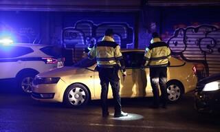 Lockdown: Έλεγχοι της Τροχαίας σε οδηγούς στην Λεωφόρο Ηλιουπόλεως