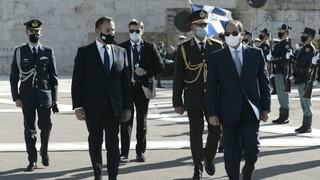 Συνάντηση Αλ Σίσι - Παναγιωτόπουλου: Περαιτέρω στρατιωτική συνεργασία Αιγύπτου και Ελλάδας