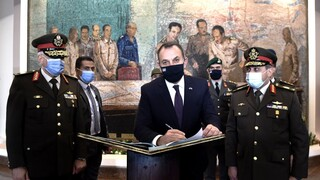 Παναγιωτόπουλος: Οι προκλητικές ενέργειες της Τουρκίας στο επίκεντρο των επαφών στην Αίγυπτο