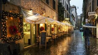 Κορωνοϊός – Ιταλία: Νέα περιοριστικά μέτρα για τις γιορτές ανακοίνωσε ο Κόντε