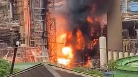 Νότια Αφρική: Ισχυρή έκρηξη σε διυλιστήριο πετρελαίου στο Ντέρμπαν