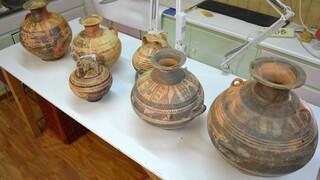 Κάλυμνος: Συνελήφθη γυναίκα για κατοχή αρχαίων αμφορέων