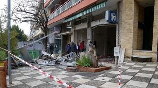 Ισχυρή έκρηξη σε ATM τράπεζας στη Θεσσαλονίκη