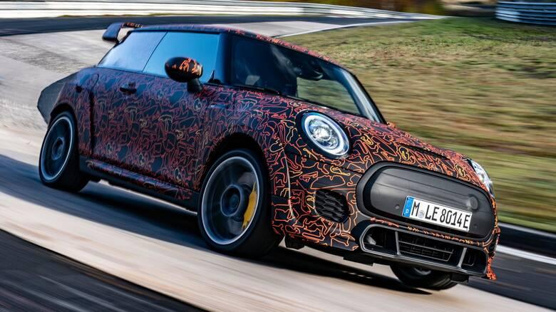 Αυτοκίνητο: Η Mini θα παρουσιάσει και ηλεκτρικό John Cooper Works με κορυφαίες επιδόσεις
