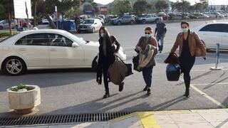 Κορωνοϊός: Επέστρεψαν στην Κρήτη οι νοσηλεύτριες που πήγαν εθελοντικά στη Θεσσαλονίκη